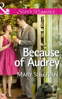 Cover Because of Audrey (Mills & Boon Superromance)