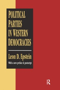 Cover Political Parties in Western Democracies