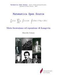 Cover Moto browniano ed equazione di Langevin