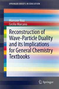 Cover Reconstruction of Wave-Particle Duality and its Implications for General Chemistry Textbooks