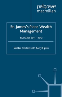 Cover St. James's Place Tax Guide 2011-2012