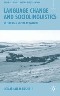 Cover Language Change and Sociolinguistics