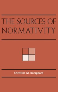 Cover Sources of Normativity