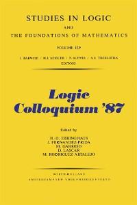 Cover Logic Colloquium '87