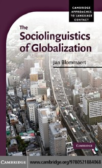 Cover Sociolinguistics of Globalization
