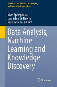 Cover Data Analysis, Machine Learning and Knowledge Discovery