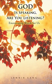 Cover God Is Speaking, Are You Listening?