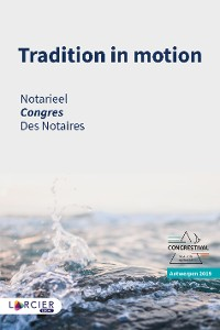 Cover Tradition in motion