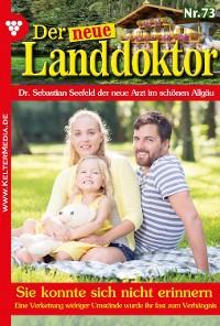 Cover Der neue Landdoktor 73 - Arztroman