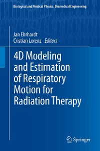 Cover 4D Modeling and Estimation of Respiratory Motion for Radiation Therapy