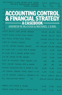 Cover Accounting Control and Financial Strategy