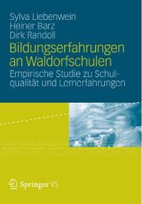 Cover Bildungserfahrungen an Waldorfschulen