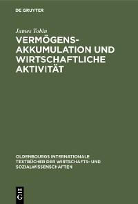 Cover Vermögensakkumulation und wirtschaftliche Aktivität