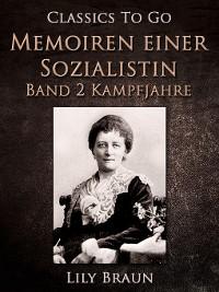 Cover Memoiren einer Sozialistin Band 2--Kampfjahre