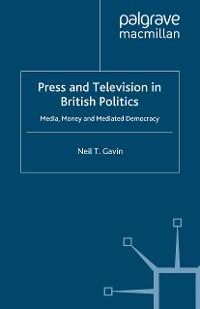 Cover Press and Television in British Politics