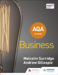 Cover AQA A-level Business (Surridge and Gillespie)