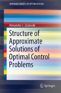 Cover Structure of Approximate Solutions of Optimal Control Problems