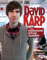Cover David Karp