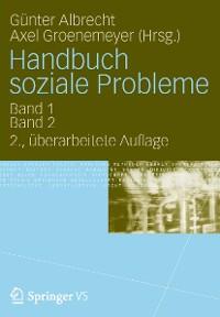 Cover Handbuch soziale Probleme