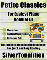 Cover Petite Classics for Easiest Piano Booklet D1