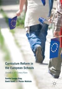 Cover Curriculum Reform in the European Schools