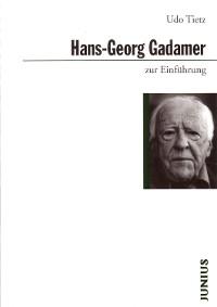 Cover Hans-Georg Gadamer zur Einführung