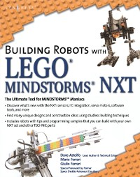 Cover Building Robots with LEGO Mindstorms NXT