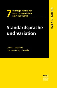 Cover Standardsprache und Variation