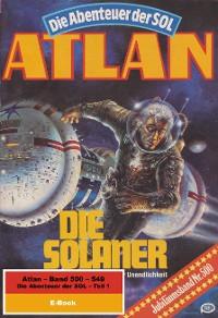 Cover Atlan-Paket 11: Die Abenteuer der SOL (Teil 1)