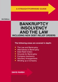 Cover Straightforward Guide To Bankruptcy, Insolvency And The Law