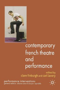 Cover Contemporary French Theatre and Performance