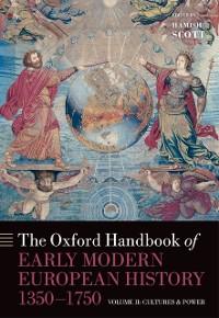 Cover Oxford Handbook of Early Modern European History, 1350-1750