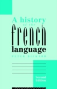 Cover History of the French Language