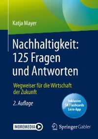 Cover Nachhaltigkeit: 125 Fragen und Antworten