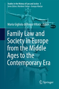 Cover Family Law and Society in Europe from the Middle Ages to the Contemporary Era