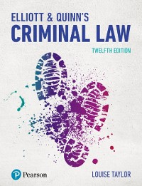 Cover Elliott & Quinn's Criminal Law