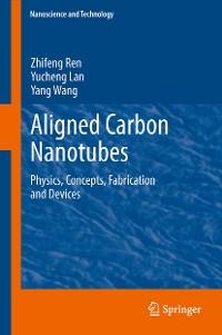 Cover Aligned Carbon Nanotubes