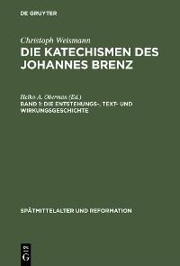 Cover Die Entstehungs-, Text- und Wirkungsgeschichte
