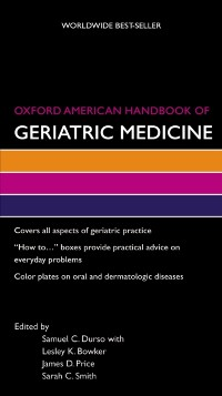 Cover Oxford American Handbook of Geriatric Medicine