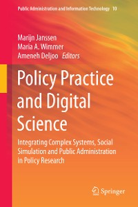 Cover Policy Practice and Digital Science