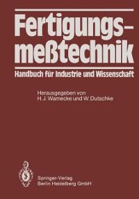 Cover Fertigungsmetechnik