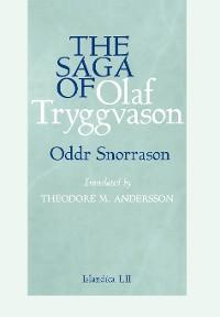 Cover The Saga of Olaf Tryggvason