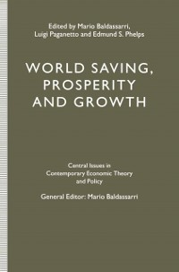 Cover World Saving, Prosperity and Growth