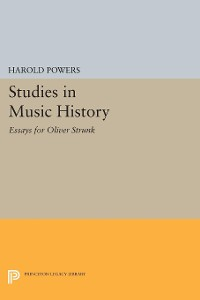 Cover Studies in Music History