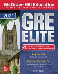 Cover McGraw-Hill Education GRE Elite 2021