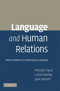 Cover Language and Human Relations