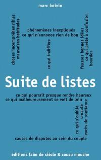 Cover Suite de listes