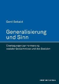 Cover Generalisierung und Sinn