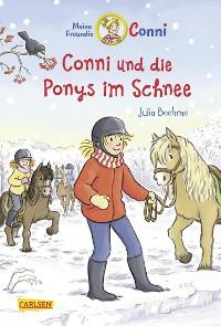 Cover Conni-Erzählbände 34: Conni und die Ponys im Schnee