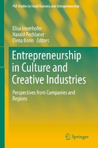 Cover Entrepreneurship in Culture and Creative Industries